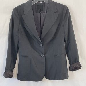 The Limited 2 button career blazer black size 6